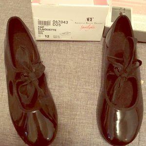 Tap shoes- kids 12